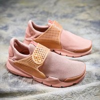 Nike Sock Dart Breathe Pink Sport Running Shoes - Best Online Sale