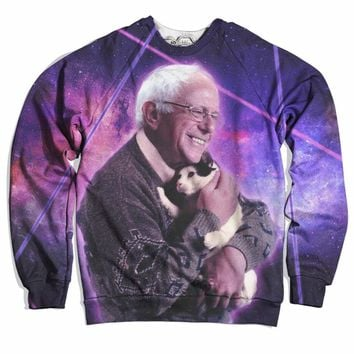 Bernie Sanders Loves Cats Sweater
