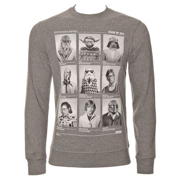 Chunk Star Wars Class Of 77 Sweatshirt (Grey)
