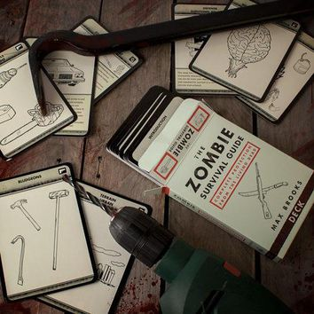 The Zombie Survival Guide At Firebox.com