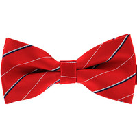 Tok Tok Designs Baby Bow Tie for 14 Months or Up (BK176, Red)