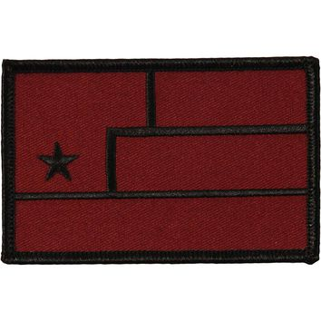 Nine Inch Nails Men's Embroidered Patch Red