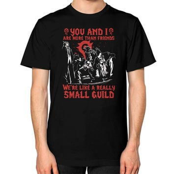YOU AND I SAMLL GUILD Unisex T-Shirt (on man)