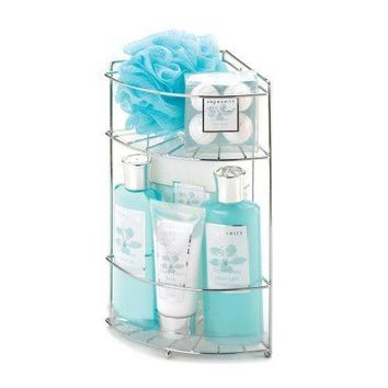 Ocean Oasis Bath Caddy Spa Set (pack of 1 EA)