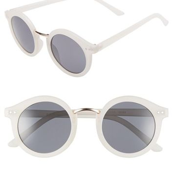 Women's A.J. Morgan 'Randall' 46mm Sunglasses - Matte