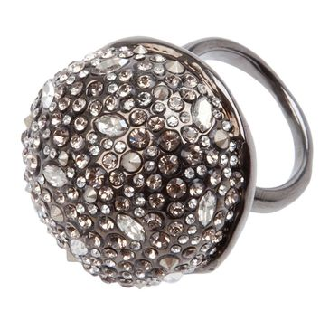 Alexis Bittar crystal studded ring