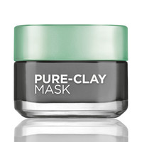 Detox & Brighten Charcoal Clay Mask By L'Oréal Paris Pure-Clay