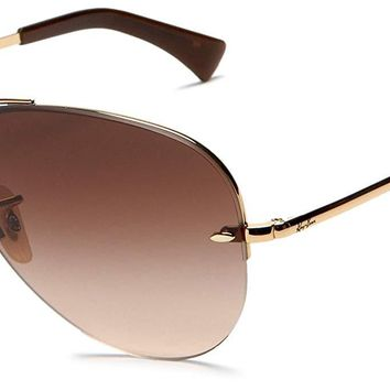 Ray-Ban RB3449 Aviator Sunglasses 59 mm