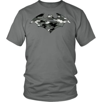 MILITARY CAMOUFLAGE BATSUP t-shirt