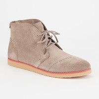 TOMS Mateo Chukka Womens Booties | Boots & Booties
