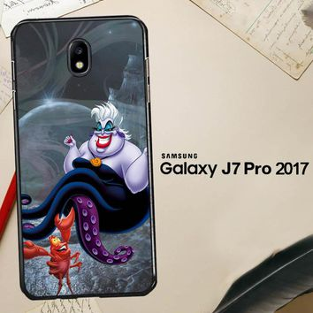 Ursula Octopus Little Mermaid D0096 Samsung Galaxy J7 Pro SM J730 Case