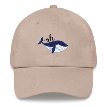 Oh Whale Dad hat