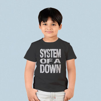 Kids T-shirt - System of a Down Logo