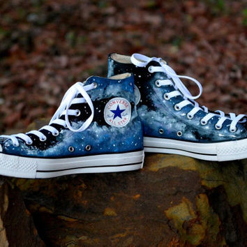 6119bea81646 Eiffel tower shoes Converse Sneakers from MasalShoesShop on Etsy