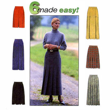 Simplicity 8428 Misses' Skirt Sewing Pattern, Sizes 20-22-24, Misses Sewing Pattern, New, Uncut, Factory Folds