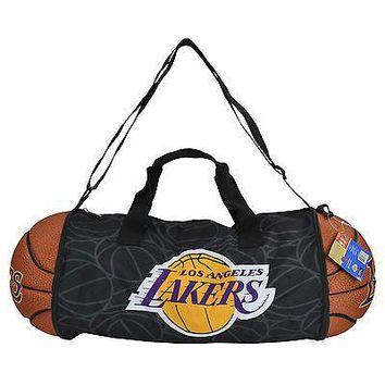 Licensed Official Brand New NBA Los Angeles LA Lakers Gym Training Duffel Ball Bag Large