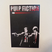 Pulp Fiction 12x18 Movie Poster