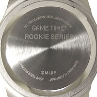 "Game Time Unisex MLB-ROB-NY5 ""Rookie Black"" Watch - New York Yankees - ""Tophat Logo"""