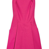 Antonio Berardi | Box-pleat stretch cotton-crepe dress | NET-A-PORTER.COM