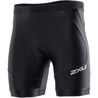 2XU Perform Tri 7in Shorts - Men's Black/Black,