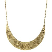House of Harlow 1960 Jewelry Zig Zag Collar Necklace