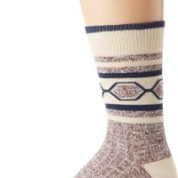 PACT Men's Camp Sock, Rosewood, One Size
