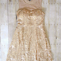 October Glow Party Dress