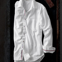 Greater White Shirt-Carbon 2 Cobalt