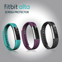 Full Cover Clear Screen Protector for Fitbit Alta High Definition 0.1mm TPU Material Ultra Thin Protective Film