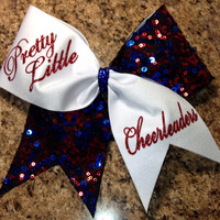 Pretty Little Cheerleaders cheer bow