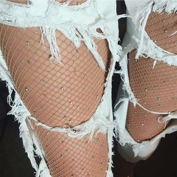 2017 Woman Sexy Blink fishnet stocking Panty-hose Leg shaping silk stockings compression tights Thin stocking Sep5