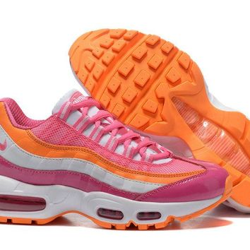 Nike Air Max 95 Le Gs Vivid Pink/bright Citrus For Ladies 310830-603 - Beauty Ticks