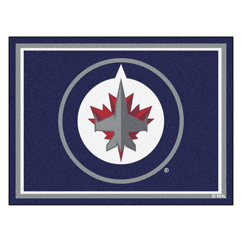 Winnipeg Jets NHL 8ft x10ft Area Rug