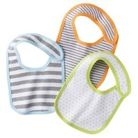 Circo® Newborn 3 Piece Bib Set - Greyhound
