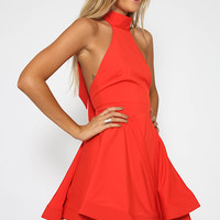 Ruby Woo Dress - Red
