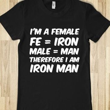 IRON MAN - Hipster Apparel