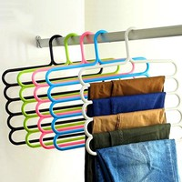 5Layer Multifunctional Anti Skid Dry Wet Use Scarf Hanger Creative Towel Rack