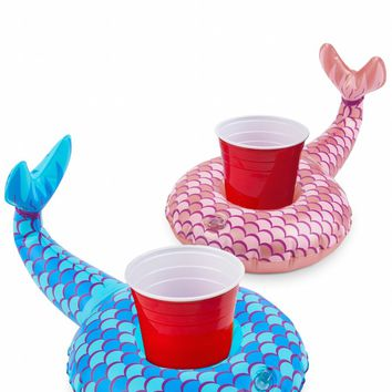 Mermaid Tail Beverage Boats 2-Pack
