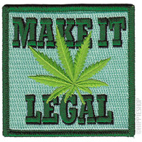 Weed Indeed Make It Legal Patch on Sale for $4.99 at HippieShop.com