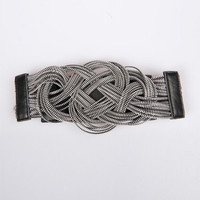 Knotted Zipper Waist Belt < Sexy Accessories