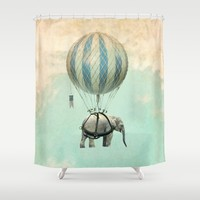 Jumbo Shower Curtain by Vin Zzep