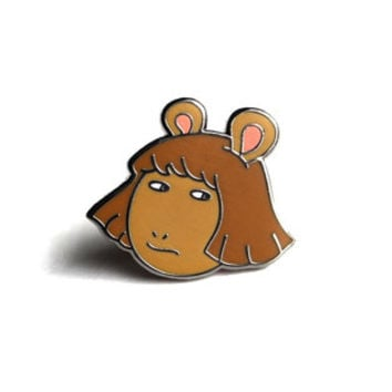 "DW ""Side Eye"" Pin"