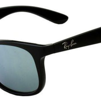 Kalete Authentic RAY-BAN 9062S - 701330 Sunglasses Junior Silver Mirror *NEW* 48mm