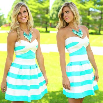 Had Me Again At Hello Bandage Dress in Mint