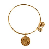 Alex and Ani Daughter Charm Bangle - Russian Gold