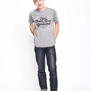 Old Chunk of Coal Men's Crew - Heather Grey