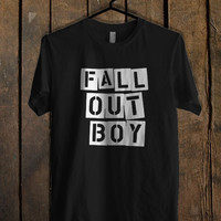 fall out boy flower white T Shirt Mens T Shirt and Womens T Shirt **