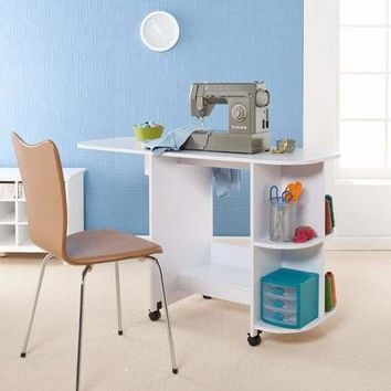 Sewing Table - White