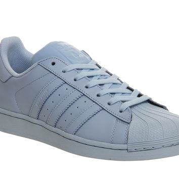 Adidas Superstar 1 Pharrell Supercolour Clear Sky Blue - His trainers