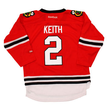 Duncan Keith Chicago Blackhawks Reebok Child Replica (4-6X) Home NHL Hockey Jersey